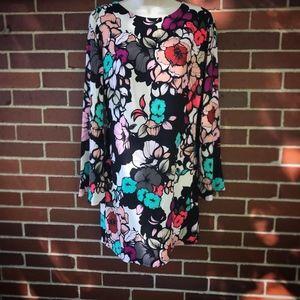 Express Long Sleeved Floral Dress - NWOT
